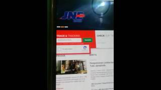 Cara Cek Status Barang Di Website JNE