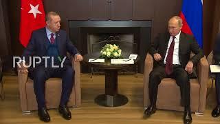 Russia: Putin greets Erdogan hailing 'relations completely restored'