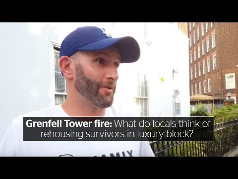 Grenfell Tower fire: What do locals think of rehousing survivors in luxury block?