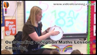 Outstanding Reception Maths Classroom Observation - Topic Counting