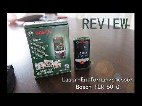 Review: BOSCH Laser-Entfernungsmesser PLR 50 C mit Bluetooth
