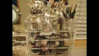 The Clear Cube - Makeup Storage