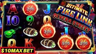 Ultimate Fire Link Slot Machine $10 Max Bet Bonus & ✦BIG WIN ✦ | Live Slot Play WNG Slot