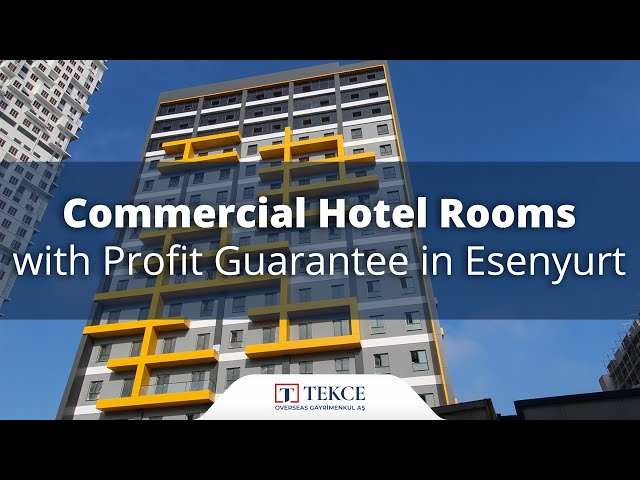 Commercial Hotel Rooms with Investment Chance in Istanbul