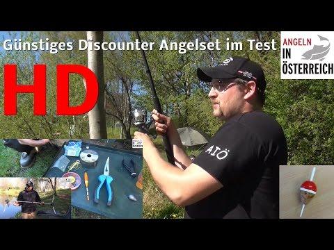 Günstiges Angelset und Rodpod vom Discounter im Test / FULL HD