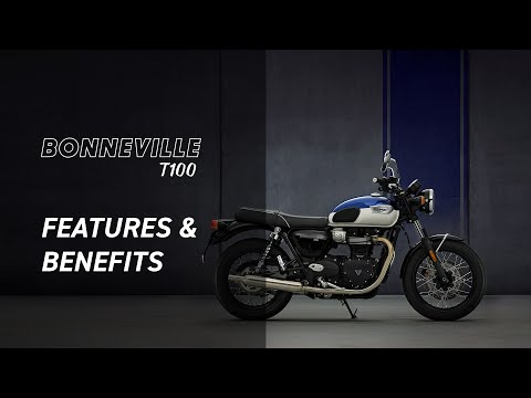 2022 Triumph Bonneville T100 in Indianapolis, Indiana - Video 1