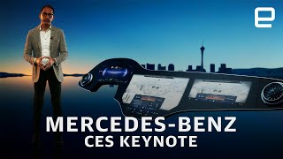 Mercedes-Benz CES 2021 keynote in 6 minutes