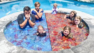 FILLING our HOT TUB with 1,000 Water Balloons!