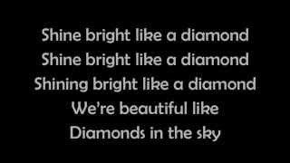 Rihanna   Diamonds (lyrics)