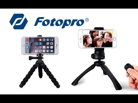 Mini trípodes Fotopro