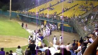 preview picture of video 'Victoria Final de Coamo en la Serie 7-4 contra Juana Diaz en el Baseball Doble A'