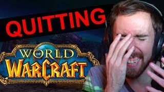 Asmongold Talks About QUITTING WOW: Why BFA Was A FAILURE