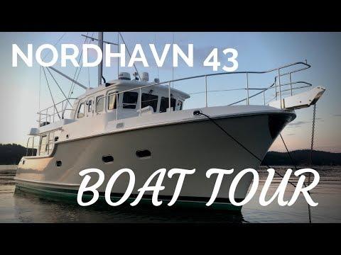 Nordhavn 43 BOAT TOUR!