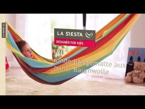 Kinderhängematte Iri Rainbow - HängemattenGigant