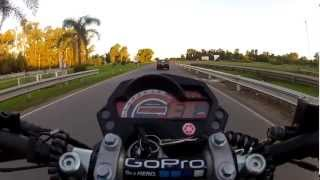 preview picture of video 'YAMAHA FZ 16 en san pedro...(6)'
