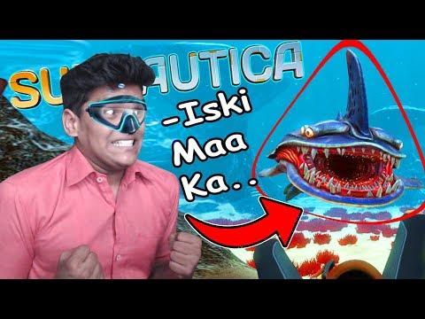 Ek Ocean Jahan Aliens Rahete Hai - SUBNAUTICA #1 Gameplay HD Funny Moments BeastBoyShub