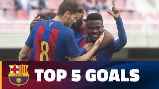 FCB Masia-Academy: Top goals 15-16 April