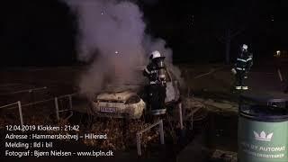 12.04.2019 – Ild i bil – Hillerød