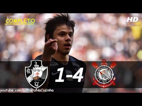 Vasco 1 x 4 Corinthians - Melhores Momentos | HD COMPLETO Brasileirão