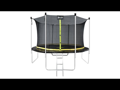 Doufit TR-06 12FT 10FT 8FT Trampoline Assembly Video