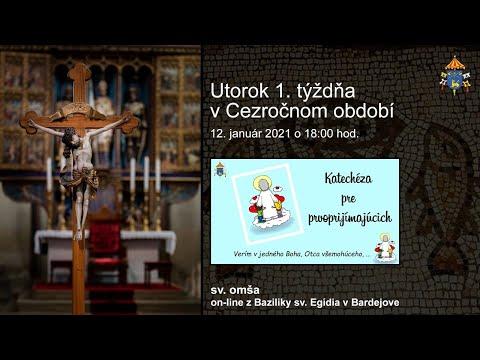 Farnosť sv. Egídia Bardejov - priamy prenos svätá omša