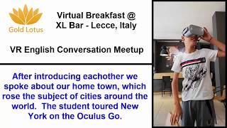 Learn English in VR - Virtual Breakfast