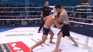 Нэйт Ландвер vs Хамзат Далгиев highlights, M-1 Challenge 95