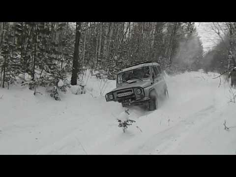 "УАЗ 469 сафари 500, 31"" военный мост перед блокировка 1"