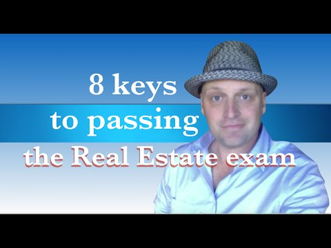 8 keys to passing the real estate exam - YouTube