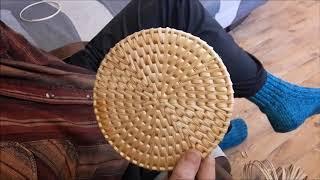 Спиральное плетение на основании по МК Виктора Лаха