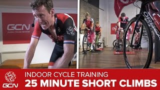 HIIT – 25 Minute Cycling Workout – Hill Training
