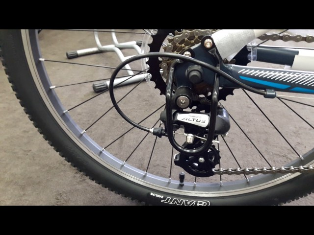 Видео Велосипед Giant XTC JR 1 24 grey