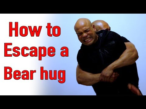 How to Escape a bear hug