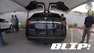 What It's Like To Drive The Tesla Model X