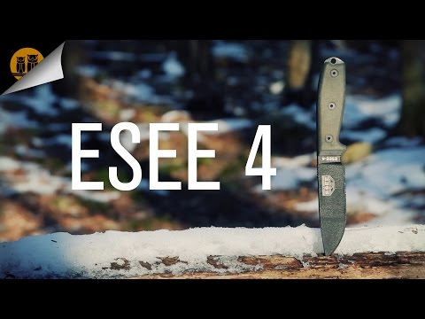ESEE 4 | Survival Knife | Field Review