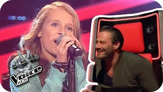 Emilia - Big Big World (Sarah) | The Voice Kids 2017 | Blind Auditions | SAT.1