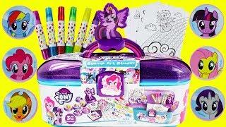 My Little Pony Stamp Art Studio with Toy Surprises