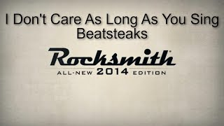 Rocksmith 2014 (Bass) I Don't Care As Long As You Sing-Beatsteaks
