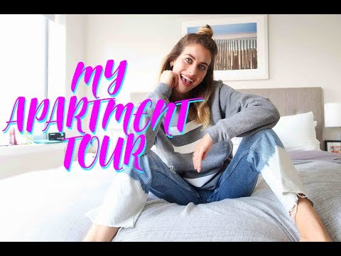 MY NYC APARTMENT TOUR!!! 2017 | Lucie Fink