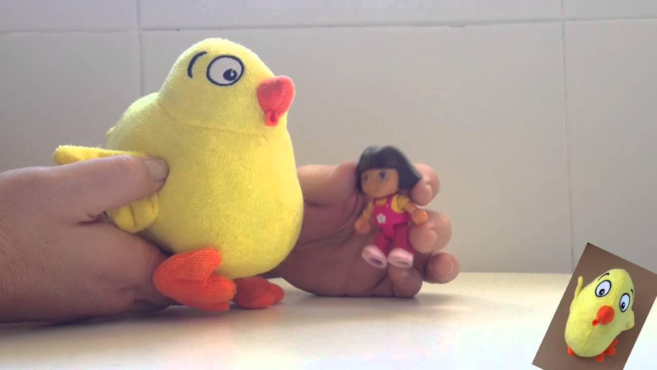"""El pollo Pepe y Dora la Exploradora cantan """"Palmas palmitas"""""""