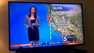 KTLA Meteorologist Forced to Wear Sweater on Live TV - FULL VIDEO
