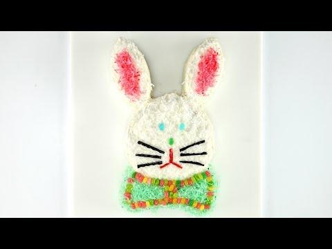 How to Make a Too-Cute Easter Bunny Cake
