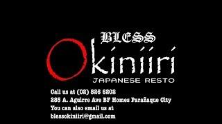 Bless Okiniiri Japanese Resto