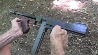 Thompson Submachine Gun  Close-up