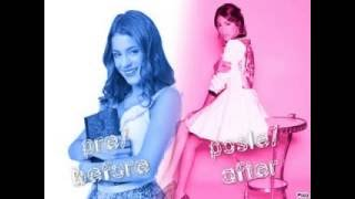 pre i posle / bifore and after martina stoessel