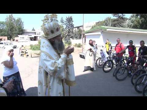 Старт велопробега в День особой молитвы о Божием творении