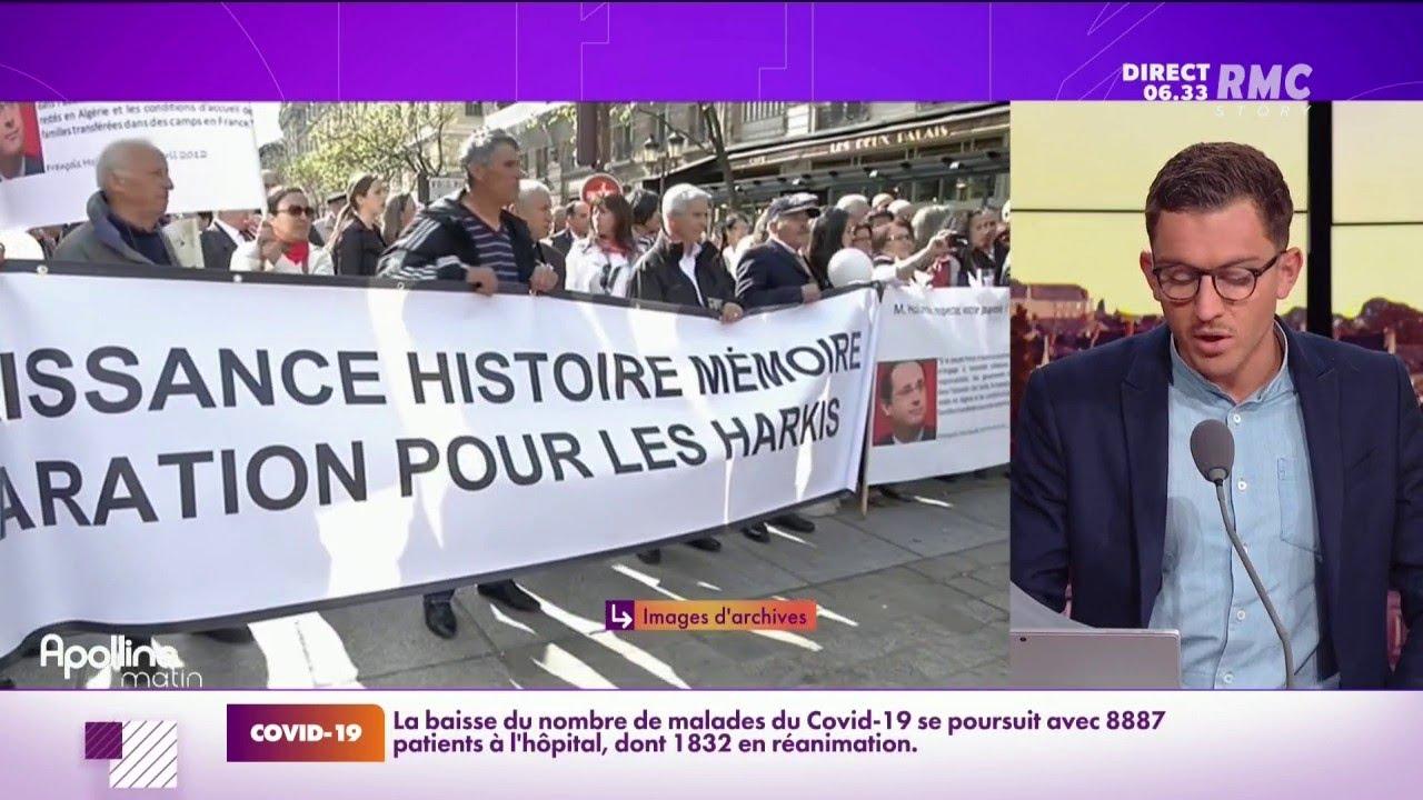 """Guerre d'Algérie: Emmanuel Macron veut ouvrir le """"chantier de la réparation"""" des Harkis"""