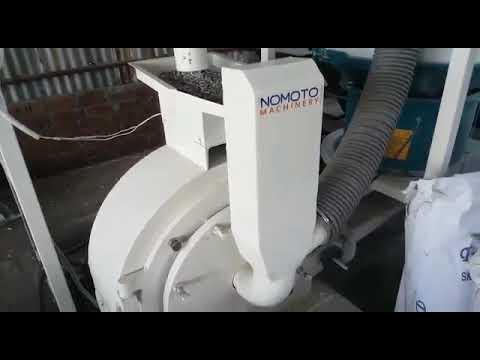Disc Mill Type Pulverizer Machine