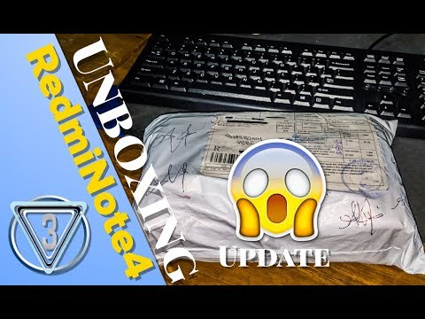 unboxing & Update Xiaomi Redmi note 4 Global