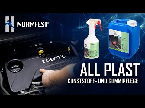 Neuprodukt: Normfest All Plast // Kunststoff- und Gummipflege